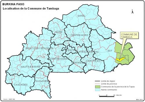 Carte Tambaga